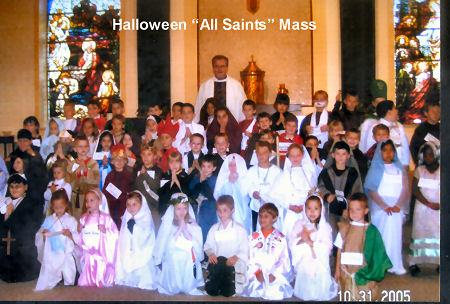 """Halloween """"All Saints"""" Mass 2005"""